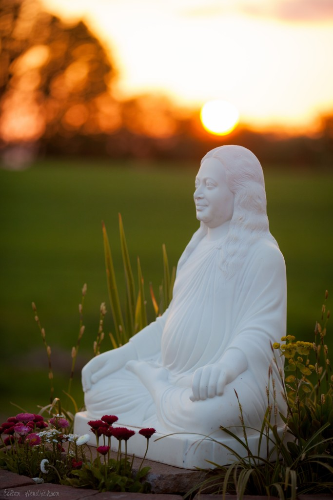 Yogananda-Gardens-at-sunset